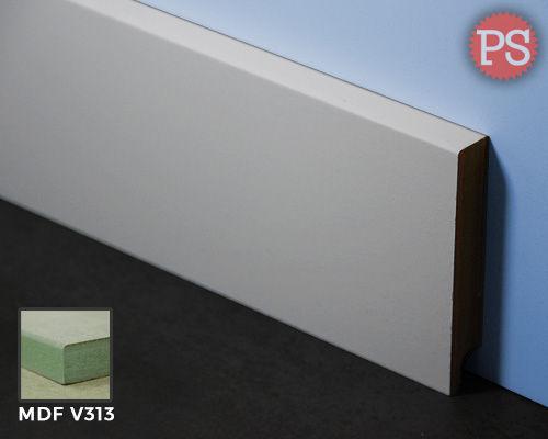 Glatte Sockelleiste mdf-v313