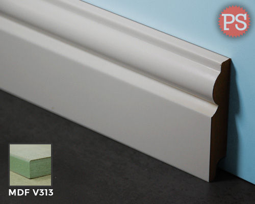 Zier Sockelleiste mdf-v313