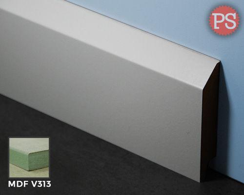 Moderne Sockelleiste mdf-v313