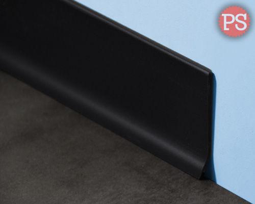 g nstige massive schwarze kunststoff pvc sockelleisten. Black Bedroom Furniture Sets. Home Design Ideas